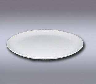 Подсвечник тарелка белый 990020